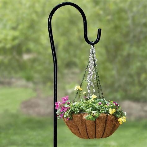Outside Plant Hangers - the self watering plant hanger hammacher schlemmer