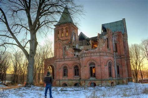 Wyndclyffe Mansion by Wyndcliffe Mansion Abandoned Hudson Valley