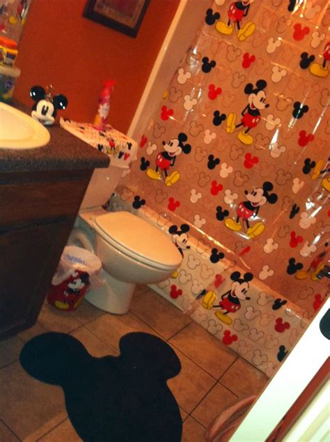 mickey mouse bathroom set pictures i take pinterest