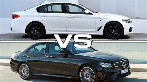 Bmw M Vs Mercedes Amg by 2017 Bmw 5 Series M Sport Vs 2017 Mercedes Amg E43
