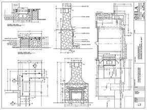 Fireplace Plans Outdoor Fireplace Building Plans