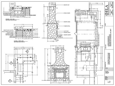 outdoor blueprint outdoor fireplace blueprints 187 backyard and yard design