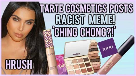 Meme Cosmetics - tarte cosmetics posts racist meme and blames an intern