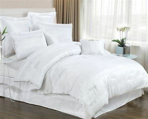 White Bed Set by 8 White Bedding Set Includes Comforter King