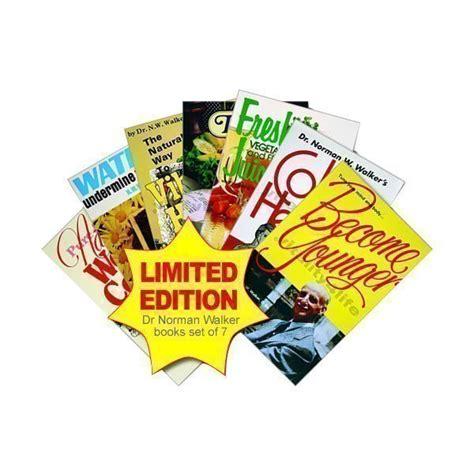 colon health key to vibrant life dr norman w walker dr norman walker health book set