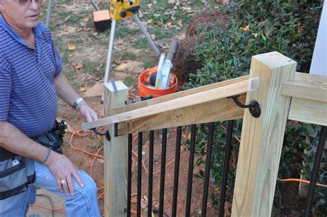 deckscom deck stair railings