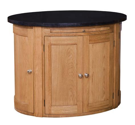 oval kitchen island 28 oak granite top oval kitchen oval kitchen island with oak top roll out leg granite top