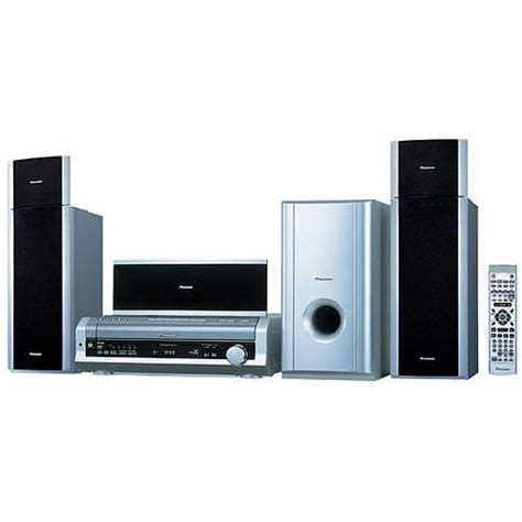 pioneer htd 88dvd 600w 5 disk multi system home theater