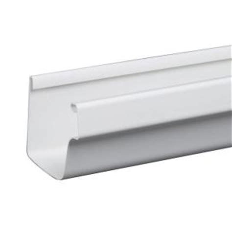 Vinyl Gutters Home Depot by Amerimax Home Products 10 Ft White Traditional Vinyl
