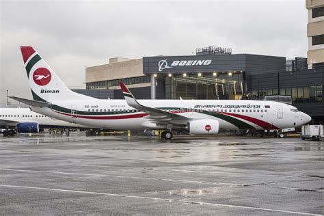 biman bangladesh airlines takes delivery of boeing 737 800 air cargo week