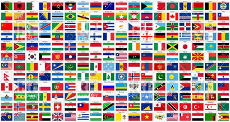 flags of the world to download free alphabetical world flags complete collection royalty free