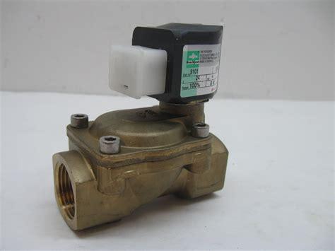 Selenoid Valve 24vdc buschjost 8241300 9100 solenoid valve 24vdc coil 3 4 quot npt new