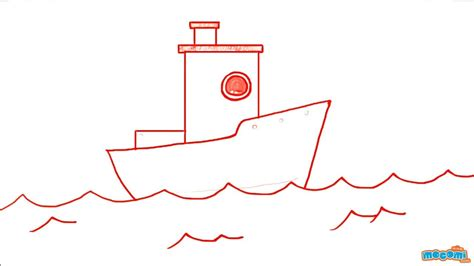how to draw a police boat how to draw a boat step by step drawing for kids