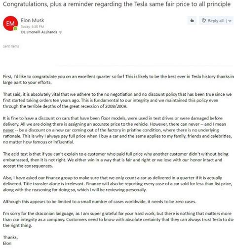 elon musk contact elon musk issues mass email to tesla employees congrats