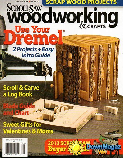 wood pattern magazines scrollsaw woodworking crafts 50 spring 2013
