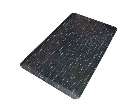 Thick Floor Mats by Black White Marbelized 1 2 Quot Thick Floor Mat Barber Supplies