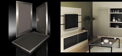 Stainless Steel Frame Kitchen Cabinet Doors « Aluminum