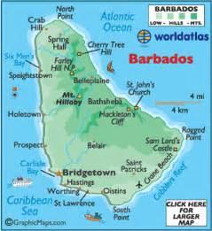 Barbados World Map by Barbados Map Geography Of Barbados Map Of Barbados