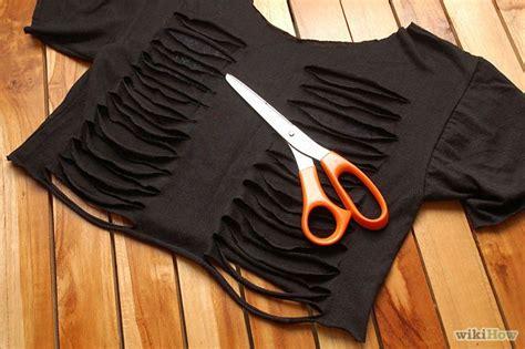 Kaos T Shirt Transformers A O E 04 10 tutoriales para convertir tus prendas en lindos crop tops