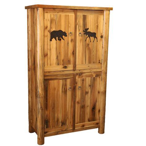 4 door armoire barnwood round leg 4 door armoire