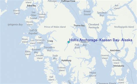 Anchorage Tide Table by Hollis Anchorage Kasaan Bay Alaska Tide Station Location