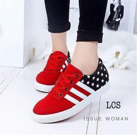 Sepatu Wanita Kanvas Nugraha Motif jual sepatu kest wanita motif bintang sds111 limited di lapak khanzabeautycare cacabeautycare591