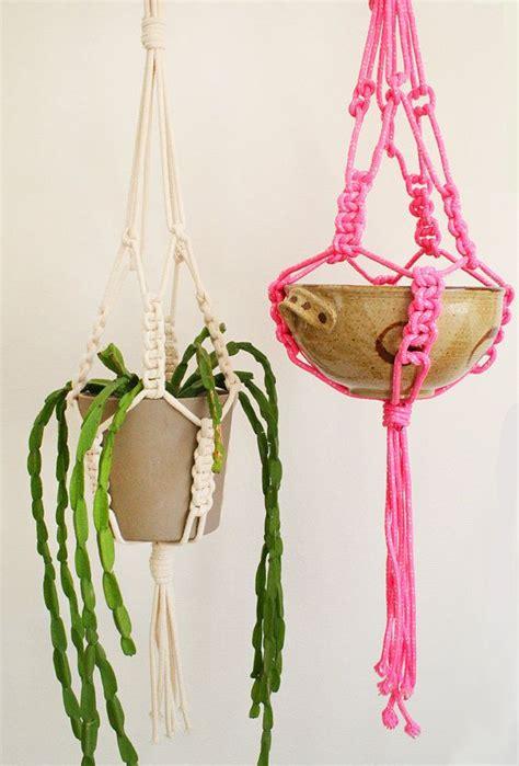 Macrame Plant Hangers Diy - 30 lovely macrame diy crafts