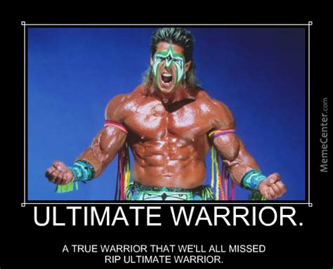 Ultimate Warrior Meme ultimate warrior memes image memes at relatably