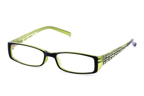 california accessories green reading glasses