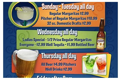 drinks deals near me