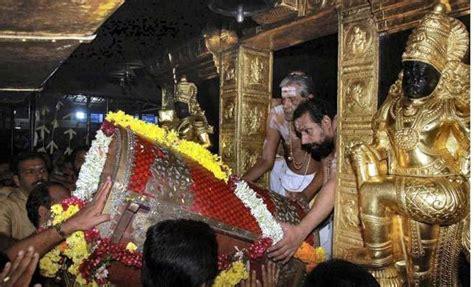 sabarimala ayyappa shrine opens  friday india newsthe indian express