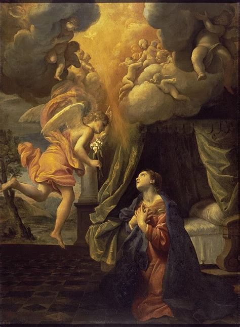 angelus paint manchester the annunciation lanfranco hermitage museum