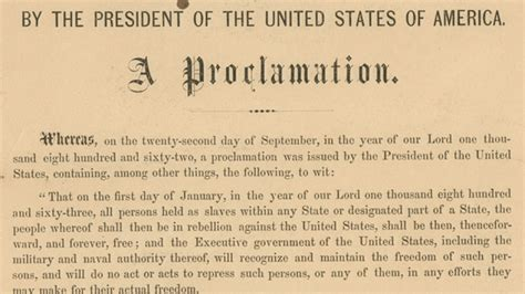 emancipation proclamation lincoln emancipation proclamation copy signed by lincoln for sale