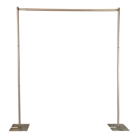 pipe and drape frame pipe and drape 8 ft tall frame 16 50 ea comes with