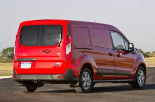 2014 ford transit connect cargo test truck trend