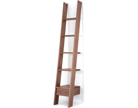 Ladder Bookcase 217 Hivemodern Com Shelf Ladder Bookcase