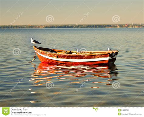 dream of empty boat empty boat royalty free stock image image 34208796
