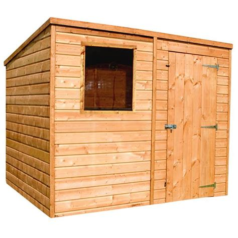 Tongue And Groove Or Overlap Shed by Sheds Ottors 7x5 Tongue And Groove Pent Wooden Shed