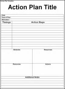 Template For Plan by Plan Template Twelwe Image