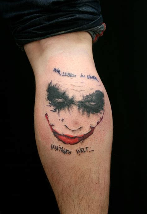 31 captivating joker tattoo designs creativefan