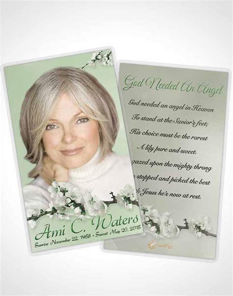 8 up prayer card template prayer card template simple emerald glow