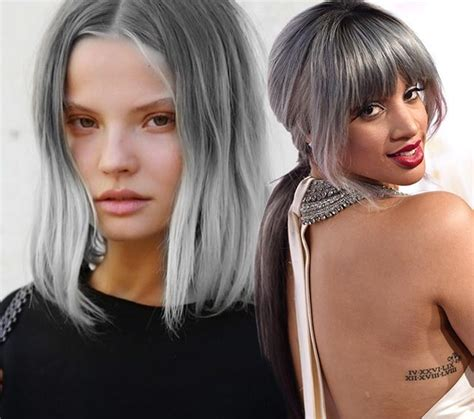 grey hair trend 2015 gray hair color trend 2015 is granny hair really the 1