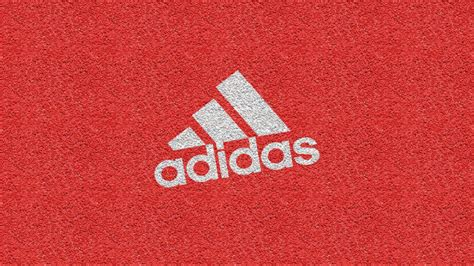 texture for logo wallpaper adidas logo texture brand red pattern