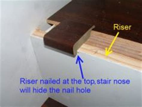 Installing Stair Risers,DIY laminate on stairs