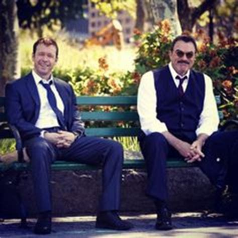 blue bloods donnie wahlberg and tom selleck are kind of donnie wahlberg and tom selleck as danny and frank reagan