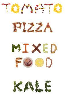printable food fonts food font alphabet letters are available to print or use
