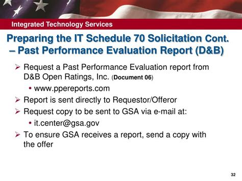 ppt how to obtain a gsa it schedule 70 contract