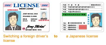 Jaf For Foreign Nationals Who Wish To Switch Their Foreign Driver S License To A Japanese License Driver License Translation Template