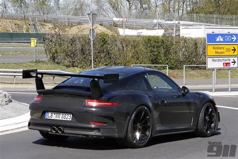 Porsche 991 Gt3 Rs by Exclusive Porsche 991 Gt3 Rs Spy Shots Total 911