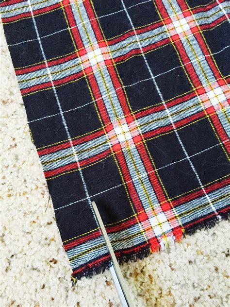 the trendy chick what s the difference plaid vs gingham the trendy chick diy blanket scarf